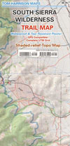 Southern Sierra Wilderness Map